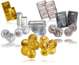 Precious Metals Gold and Silver