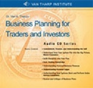 Van Tharp Business Planning For Traders and Investors